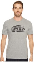 Life is Good Old School Truck Crusher Tee Men's Short Sleeve Pullover