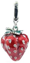 Juicy Couture Authentic Enamel Whole Strawberry with Seeds Charm