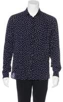 Saint Laurent 2016 Polka Dot Woven Shirt