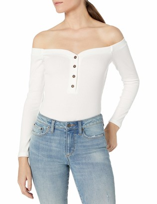 ASTR the Label Women's Off The Shoulder Miya Bodysuit