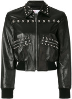 RED Valentino cropped stud jacket