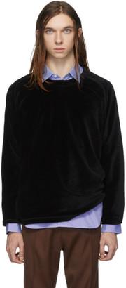 Needles Black Velour T-Shirt
