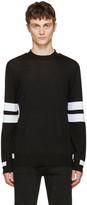 Givenchy Black Band Sleeve Pullover