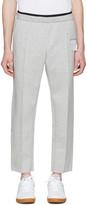 Satisfy Grey Post-run Trousers
