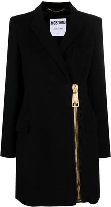 Moschino Exposed Zip Coat