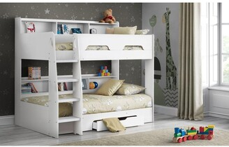 Julian Bowen Riley Bunk Bed with Shelves and Storage