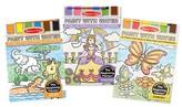 Melissa & Doug ; Paint With Water Activity Books Set: Safari, Princess, and Garden