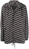 Balenciaga monogram M raincoat
