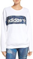 adidas Women's 'Bg' Logo Cotton Sweatshirt