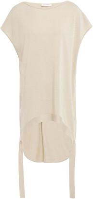 Gentryportofino Silk And Cotton-blend Top