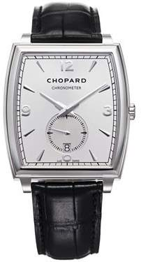Chopard L.U.C. XP Automatic Silver Dial 18 kt White Gold Men's Watch