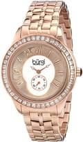 Burgi Women's BUR106RG Analog Display Swiss Quartz Watch