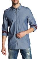Gilded Age Parker Stripe Tapered Fit Shirt