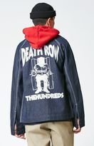 The Hundreds x Death Row Records Denim Prison Coat