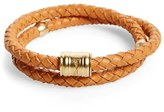 Miansai Men's Braided Leather Bracelet
