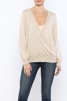 Olivaceous Natural Drapey Sweater