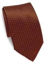 Canali Criss-Cross Silk Tie
