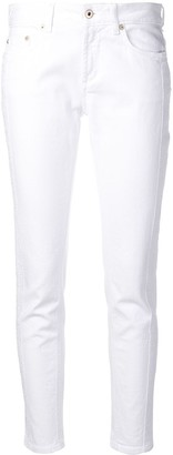 Dondup embroidered skinny-fit jeans