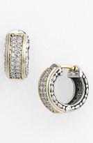 Konstantino Women's 'Diamond Classics' Small Hoop Earrings