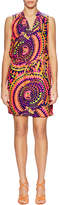 Alice & Trixie Women's Chase Silk Printed Drawsting Mini Dress