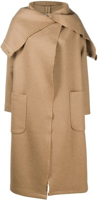 Societe Anonyme Oversized Hooded Coat