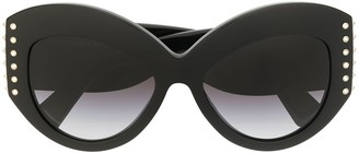 Valentino Eyewear Gradient Lenses Cat Eye Sunglasses