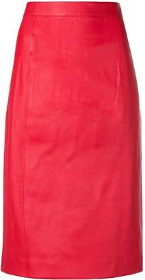 Joseph High-Rise Pencil Skirt