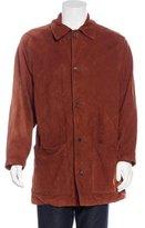 Loewe Nubuck Quilted Coat