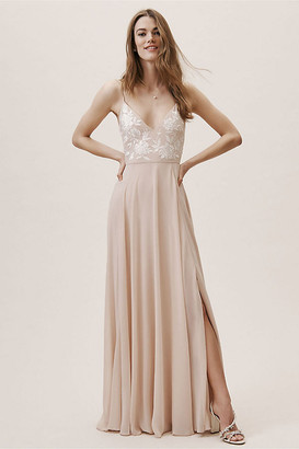 BHLDN Sadia Dress By in Pink Size 18