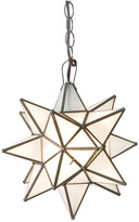 Worlds Away Frosted Star Chandelier, Large