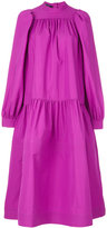 Sofie D'hoore puffed sleeve quilted dress