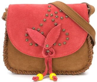 Bonpoint Studded Details Shoulder Bag