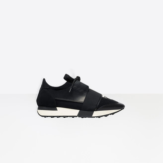 Balenciaga Multi-materials contrasted runners