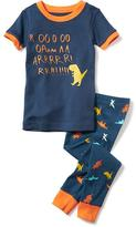 Old Navy 2-Piece Dino Graphic Sleep Set for Toddler & Baby