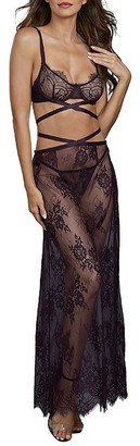 Dreamgirl 3-Piece Lace Gown Set