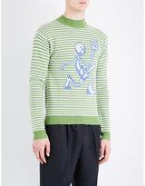 J.w. Anderson Intarsia-knit Wool Jumper