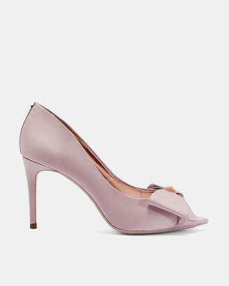 Ted Baker NUALAS Bow trim peep toe courts