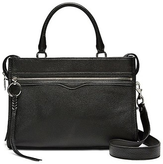 Rebecca Minkoff Bedfor Zip Leather Satchel
