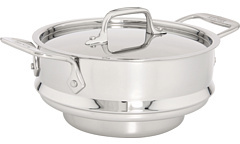 All-Clad Stainless Steel 3 Qt. Steamer Insert