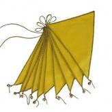 Numero 74 Bunting Flags - sunflower yellow