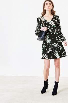 Oasis Womens Dandelion Skater Dress - Black