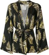 Forte Forte leaf print kimono jacket