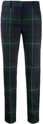 Paul Smith Straight Leg Plaid Trousers
