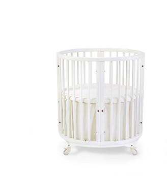 Stokke x Pehr Sleepi Mini Crib Bed Skirt Natural