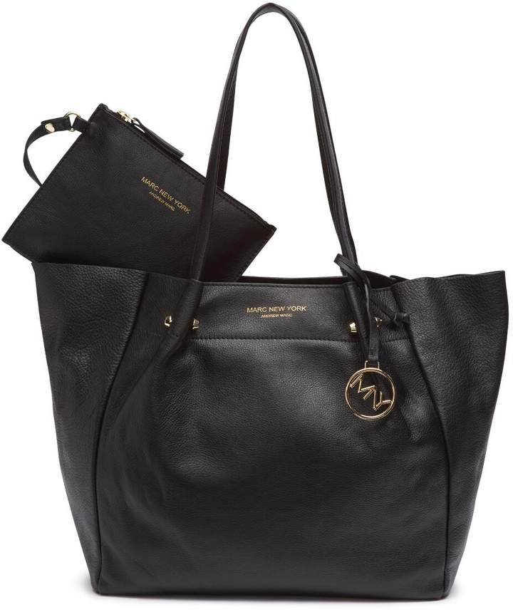 Pebble Montreal Leather Tote