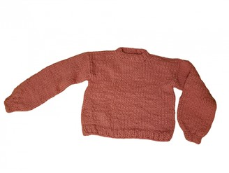 In The Mood For Love Pink Wool Knitwear
