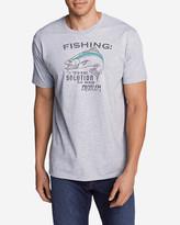 Eddie Bauer Men's Graphic T-Shirt - The Solution