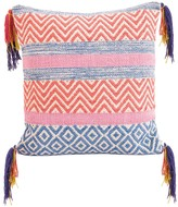 Karma Living Eccentric Pillow - 20 x 20 - Blue/Fuchsia