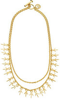 Giles & Brother Long Thorn 2 Chain Necklace