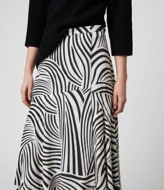 AllSaints Elie Seebra Skirt